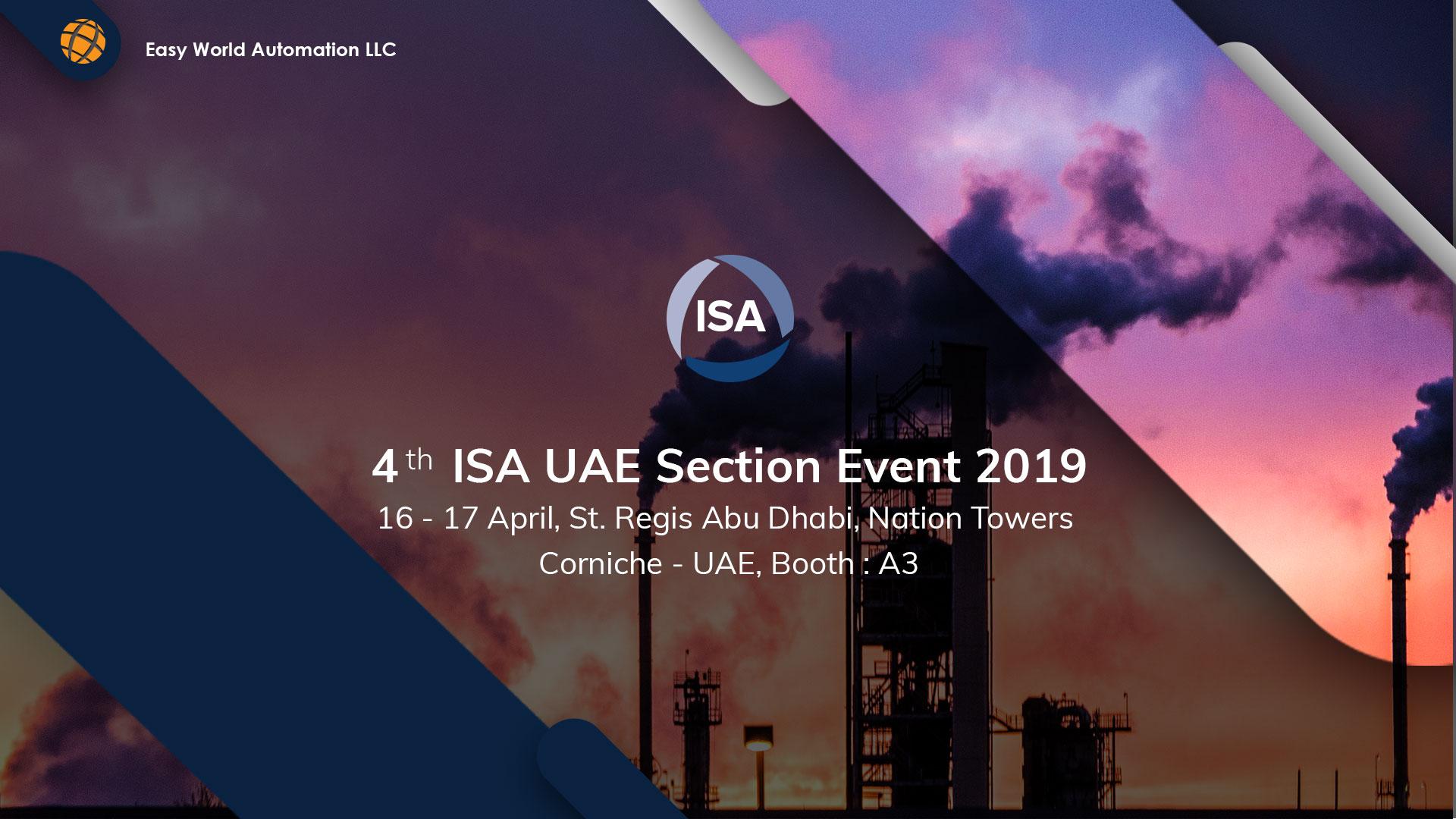 ISA UAE 2019 Exhibition