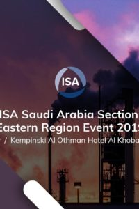 Easy World Automation - ISA Saudi Arabia Section 2019